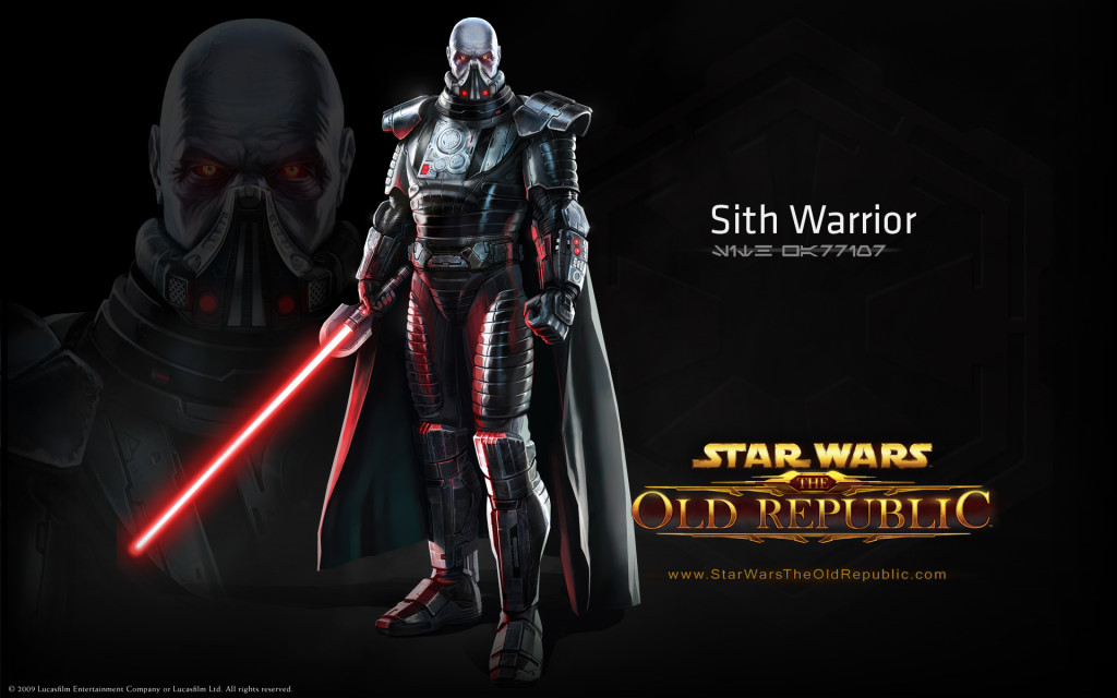 Star Wars The Old Republic Guide sith warrior 1024x640 Complete Introductory Star Wars The Old Republic Guide