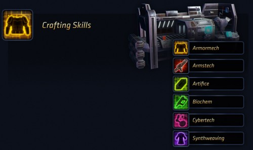 swtor crafting skills guide A Complete Basic SWTOR Crafting Guide
